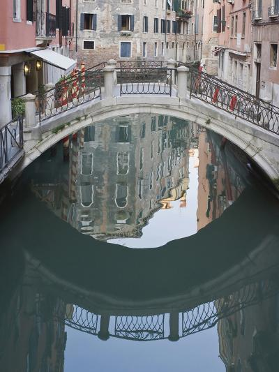 Canal and Reflection, Venice, Italy-Rob Tilley-Photographic Print