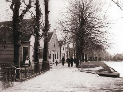 Canal Bank, Broek, Netherlands, 1898-James Batkin-Photographic Print
