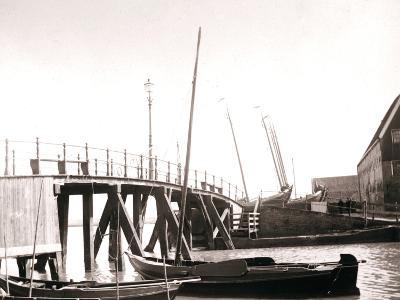 Canal Boats, Marken Island, Netherlands, 1898-James Batkin-Photographic Print
