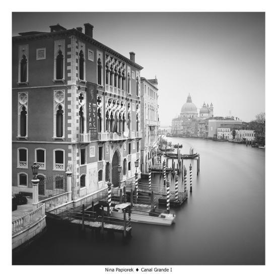 Canal Grande I-Nina Papiorek-Art Print