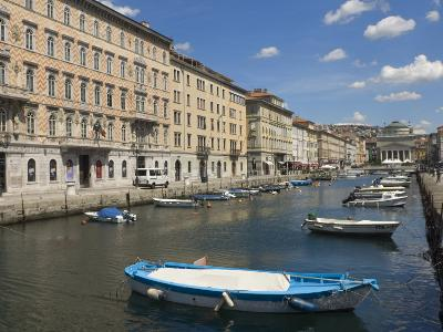 Canal Grande, Trieste, Friuli-Venezia Giulia, Italy, Europe-Lawrence Graham-Photographic Print