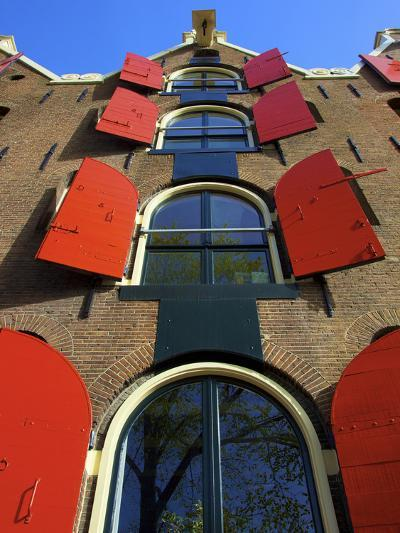 Canal Houses, Jordaan, Amsterdam, Holland-Neil Farrin-Photographic Print