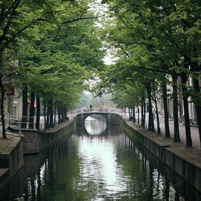 Canal in Oude, Delft-CM Dixon-Photographic Print