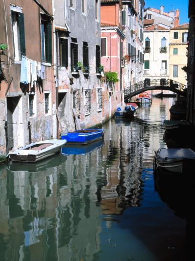 Canal in Venice, Italy-Julie Eggers-Photographic Print