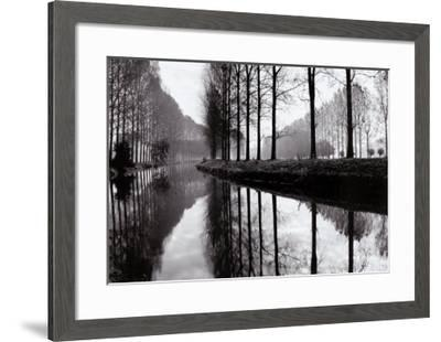 Canal, Normandy, France-Bill Philip-Framed Art Print
