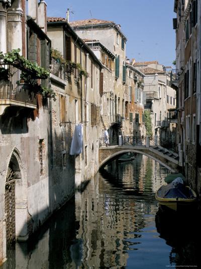 Canal Scene, Venice, Veneto, Italy-James Emmerson-Photographic Print
