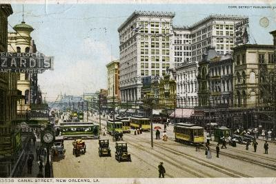 Canal Street, New Orleans, USA, C1912--Giclee Print