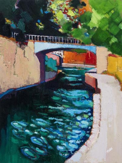 Canal, Sydney Gardens, Bath-Marco Cazzulini-Giclee Print