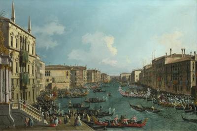 A Regatta on the Grand Canal, C. 1740
