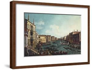 A Regatta on the Grand Canal by Canaletto