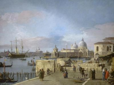 Entrance to the Grand Canal from the Molo, Venice, 1742-44 by Canaletto Canal