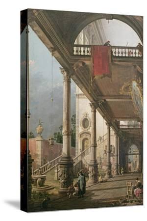 Capriccio of a Colonnade, 1765