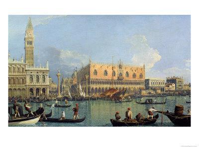 Ducal Palace, Venice, c.1755