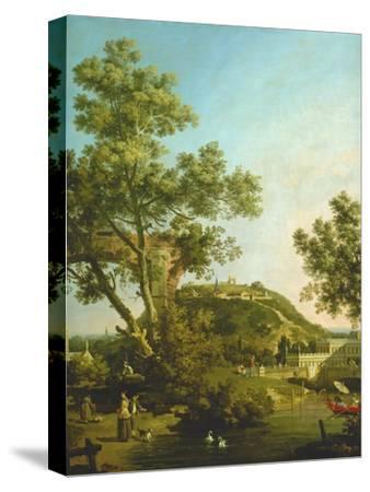 English Landscape Capriccio with a Palace, 1754
