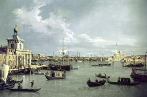 In Venice by Canaletto