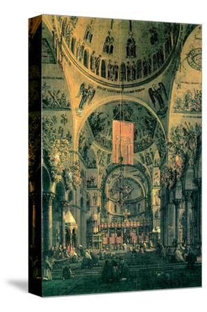 Interior of St. Marks Church, Venice