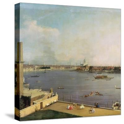 London, Thames and City as Seen from the Richmond House, 1746-1747