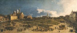Prà Della Valle in Padua, 1740S by Canaletto