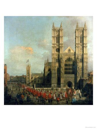 Procession of the Knights of the Bath