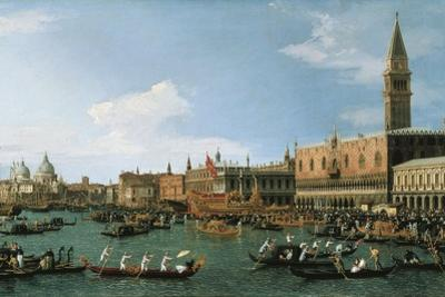 Return of Il Bucintoro on Ascension Day, 1745-1750