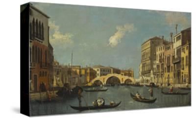 The Cannaregio, Venice, with Palazzo Testa, Palazzo Surian-Bellotto and the Ponte Dei Tre Archi,…