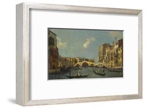 The Cannaregio, Venice, with Palazzo Testa, Palazzo Surian-Bellotto and the Ponte Dei Tre Archi,… by Canaletto