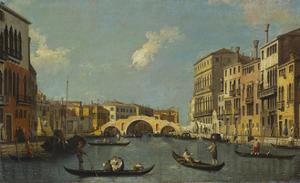 The Cannaregio, Venice by Canaletto