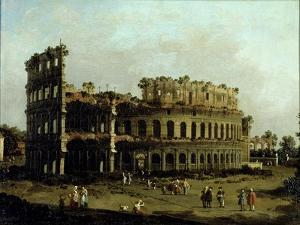 The Colosseum by Canaletto