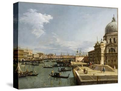 The Entrance to the Grand Canal and the Church Santa Maria Della Salute, Venice