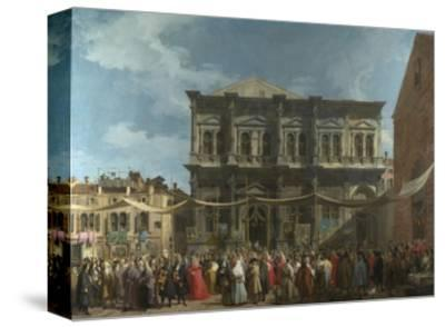The Feast Day of Saint Roch in Venice, Ca 1735