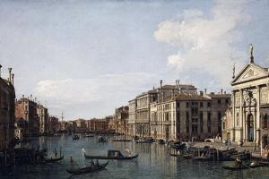 The Grand Canal, Venice, Looking South-East from San Stae to the Fabbriche Nuove Di Rialto by Canaletto