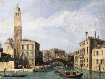 The Grand Canal with San Geremia, Palazzo Labia and the Entrance to the Cannaregio, C.1726-1730