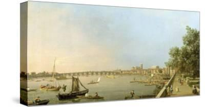 The Thames from the Terrace of Somerset House, Looking Upstream Towards Westminster and Whitehall