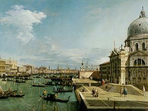 Venedig, Santa Maria Della Salute by Canaletto