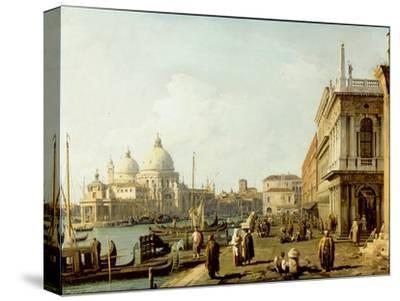 Venice: a View of Santa Maria Della Salute and the Grand Canal from the Piazzetta