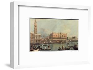 Venice, Showing Doge's Palace and Saint Mark's Square, Italy by Canaletto