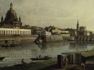View of Dresden by Canaletto