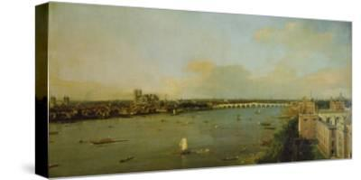 View of London with Thames, 1746/1747