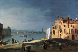View of Murano from the Island San Pietro Di Castello, 18th Century by Canaletto