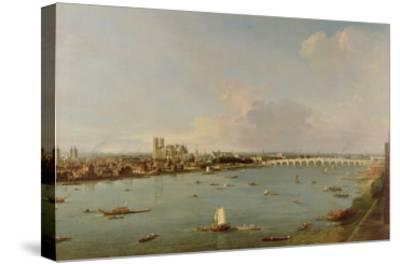 View of the Thames from South of the River
