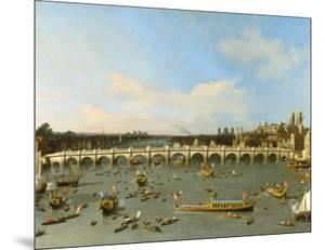 Westminster Bridge, London, by Canaletto