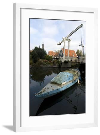Canalside, Edam-Natalie Tepper-Framed Photo