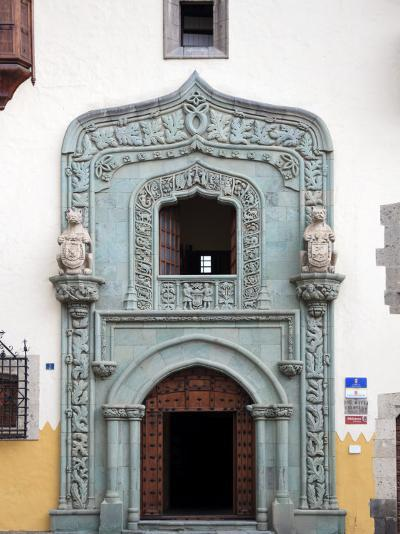 Canary Islands, Gran Canaria, Las Palmas De Gran Canaria, Vegueta, Casa Museo De Cristobal Colon-Michele Falzone-Photographic Print