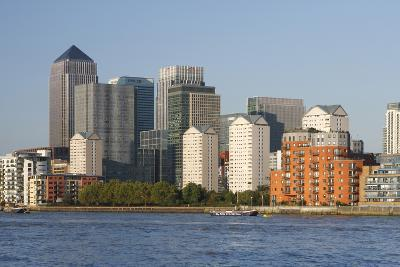 Canary Wharf, London, 2009-Peter Thompson-Photographic Print