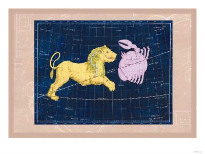 Cancer and Leo--Art Print