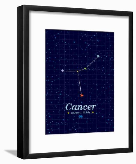 Cancer-Patricia Pino-Framed Art Print