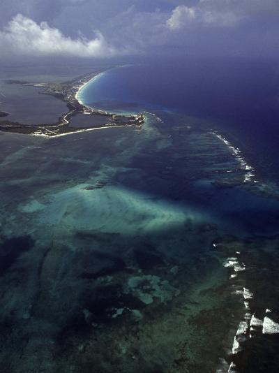 Cancun and the Caribbean Sea-Bruce Clarke-Photographic Print