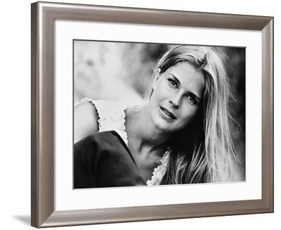 Candice Bergen, the Hunting Party, 1971--Framed Photographic Print