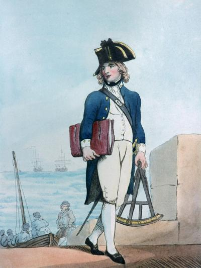 Candidate for the Marines, 1799-Thomas Rowlandson-Giclee Print