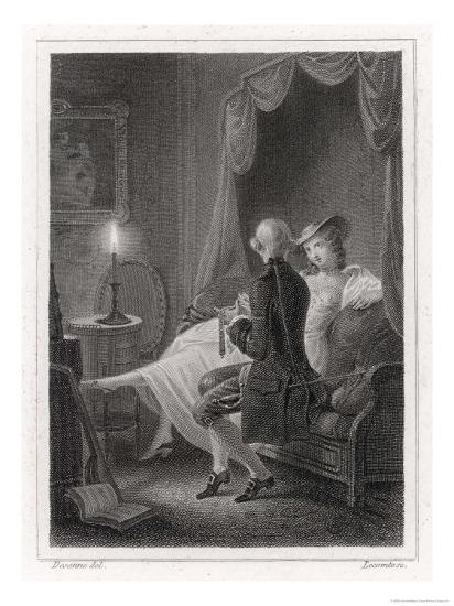 Candide and Cunegonde-Lecomte-Giclee Print